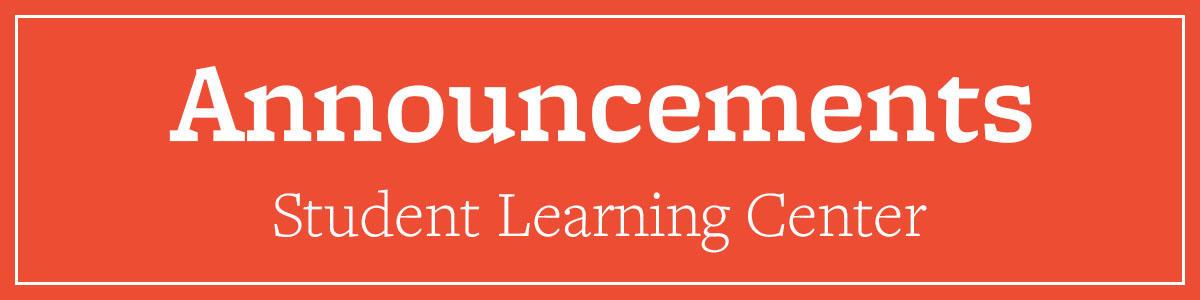 SLC Announcements
