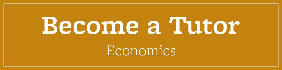 Become a Tutor Economics