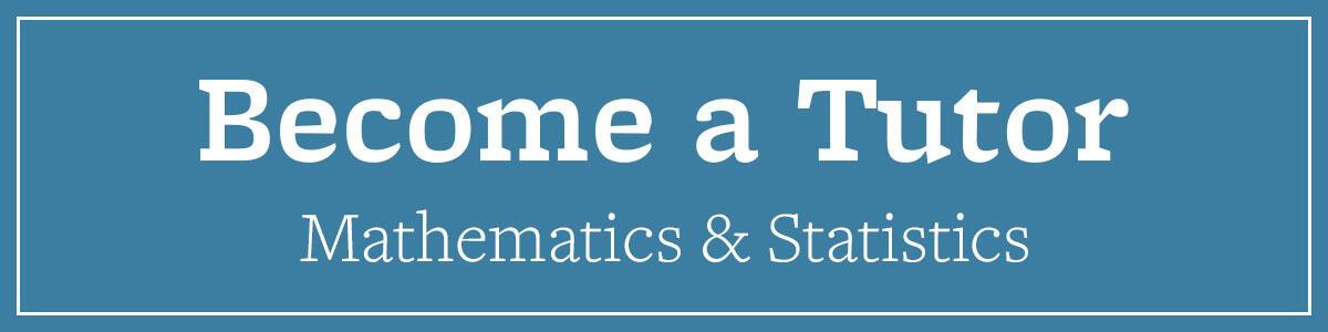 Become a Tutor Math