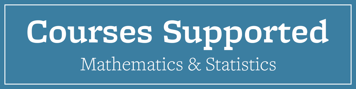 Courses Supported Math