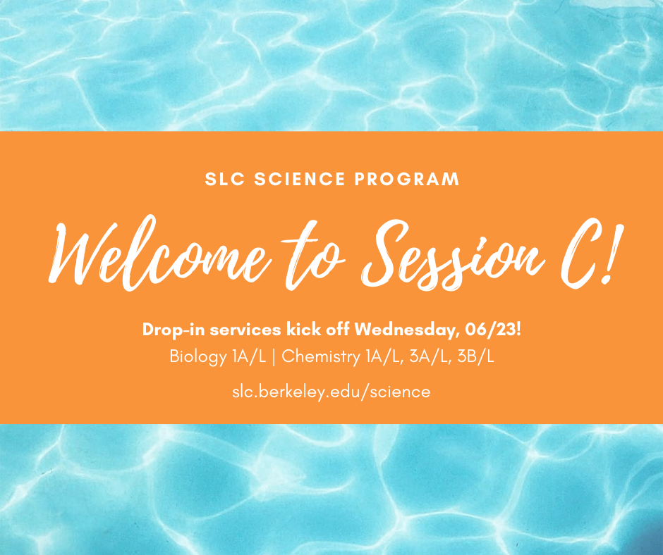 Science Summer Welcome Graphic